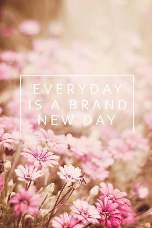 Секој ден е нов ден