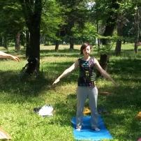 Јога во Парк